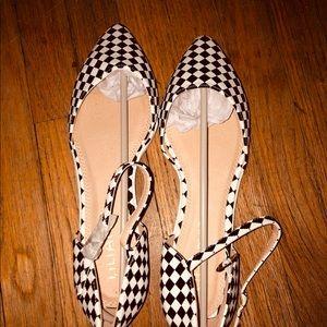 Liliana Shoes - NIB black and white checkered flats
